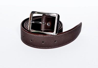 D Jindals Men Casual Brown Genuine Leather Belt