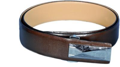 Mughals Men Brown Genuine Leather Belt