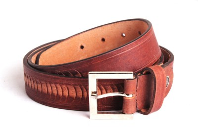 Ligans Ny Men, Women Formal, Casual Brown Genuine Leather Belt