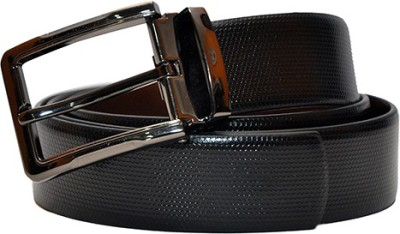 Hide Bulls Men Black Genuine Leather Belt