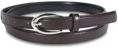 Aadaana Casual Brown Artificial Leather Belt