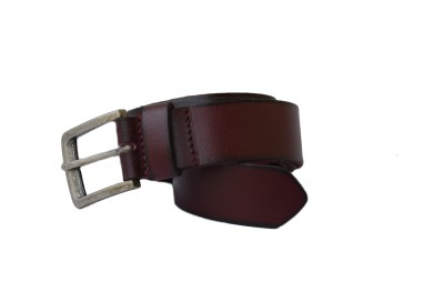 Vickiana Quest Boys, Men Casual, Formal Brown Genuine Leather Belt