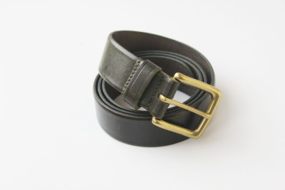 Vickiana Quest Boys, Men Casual, Formal Black Genuine Leather Belt