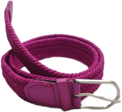 Shop & Shoppee Men, Women Casual Pink Canvas Belt