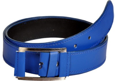 Swan Collection Boys, Girls Casual, Evening Blue Artificial Leather Belt