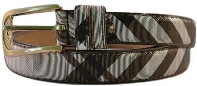 Merastore Women Casual Brown Artificial Leather Belt