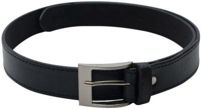SkyWays Men Formal, Casual Black Artificial Leather Belt