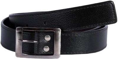 SRT Boys Black Genuine Leather Belt