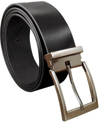 Water Men Formal, Casual, Party, Evening Black, Brown Genuine Leather Belt