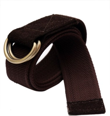 Moac Boys Casual Brown Canvas Belt