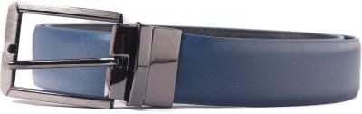 Heaven Deal Men Casual Blue Artificial Leather Belt
