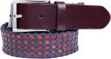 Ladecor Men Casual Blue Fabric Belt