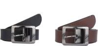 SRS Men Casual Black, Brown Synthetic Belt best price on Flipkart @ Rs. 397