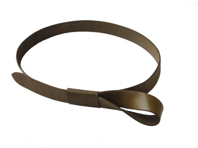Vickiana Quest Girls, Women Casual, Formal Brown Genuine Leather Belt