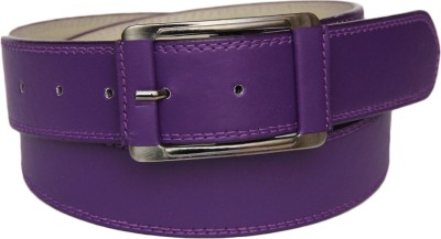 SkyWays Men Evening Purple Artificial Leather Belt