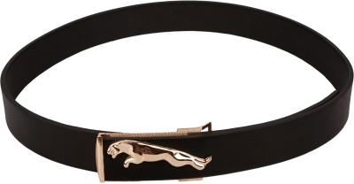 Stylehoops Men Casual Black Artificial Leather Belt