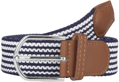 American Swan Men Casual Blue Synthetic Belt