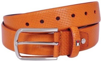 Fashion Craft Men, Boys Formal Brown Genuine Leather Belt