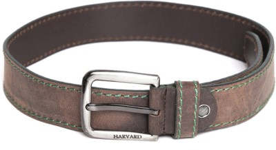 Harvard Men Brown Genuine Leather Belt