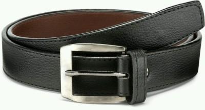 Jewlook Boys, Men Black Genuine Leather Belt