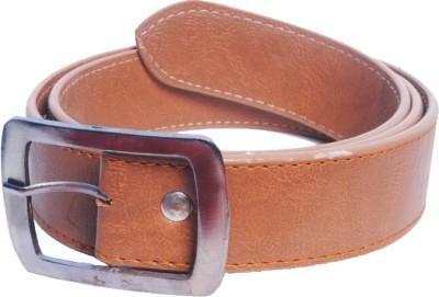 Val-U Men Casual Brown Synthetic Belt
