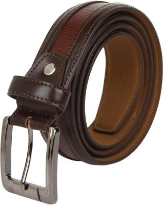 cotnis Men Brown Artificial Leather Belt