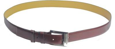 Revo Men Formal Brown Genuine Leather Belt
