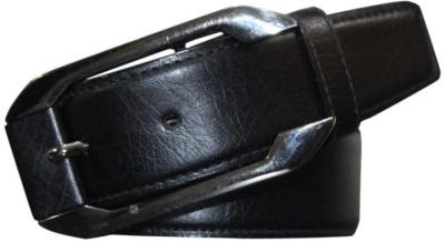 Bacchus Men Casual Black Artificial Leather Belt