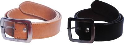 Val-U Men Brown Genuine Leather Belt