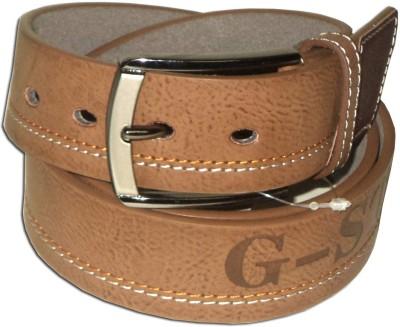 RD Men Brown Genuine Leather Belt