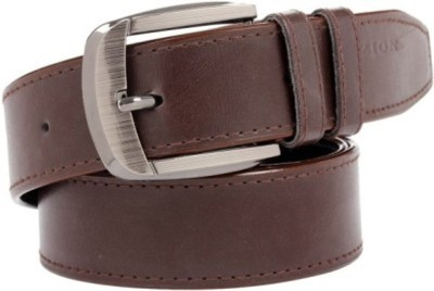Ruchiworld Men Brown Genuine Leather Belt