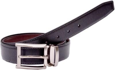 BROUNPLUS Boys, Men Casual Black Genuine Leather Belt