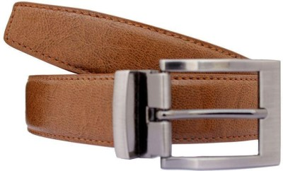 KRG ENTERPRISES Boys, Men Casual, Party, Formal Maroon Genuine Leather Belt