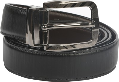 Maxter Boys, Men Casual, Formal, Party, Evening Black, Brown Genuine Leather Reversible Belt
