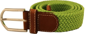 Damit Men, Women, Girls Casual, Evening, Party Green Canvas Belt