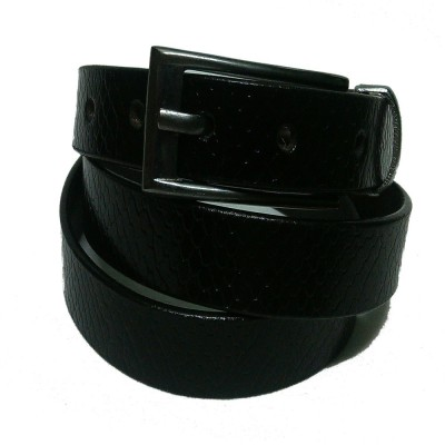 Pratibha Enterprises Women Formal Black Genuine Leather Belt