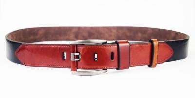 ABHINAVS Men Casual, Party Black, Brown Genuine Leather Belt