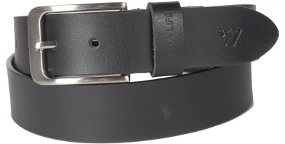Wega Life Men, Boys Formal Black Genuine Leather Belt