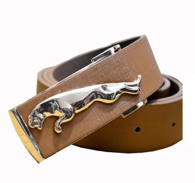 loopa Men Party Orange Artificial Leather Belt