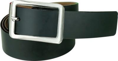 Klazo Men, Boys Casual, Evening, Formal, Party Black Genuine Leather Belt