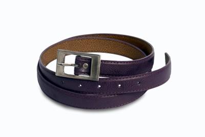 Victoria Secret Women Purple Artificial Leather Belt