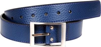 Tommy Hilfiger Boys, Men Casual, Formal Blue, Grey Genuine Leather Belt