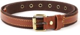 Bluth Women Casual Brown Canvas Belt