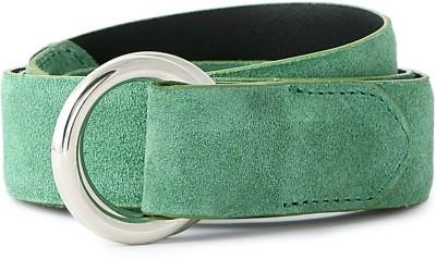 Van Heusen Men Green Genuine Leather Belt