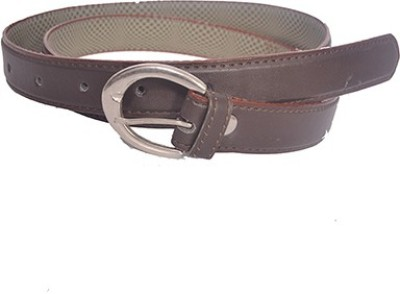 Aam Shopping Women Brown Artificial Leather Belt