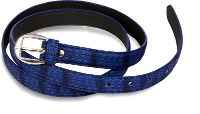 Victoria Secret Women Blue Artificial Leather Belt