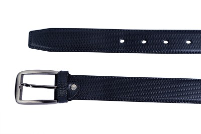 Contra Men Black Artificial Leather Belt