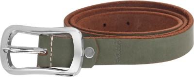 palito Girls, Women Green Genuine Leather Belt