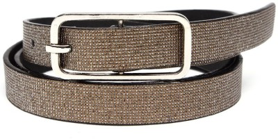 TOBO Women Casual Brown Synthetic Belt