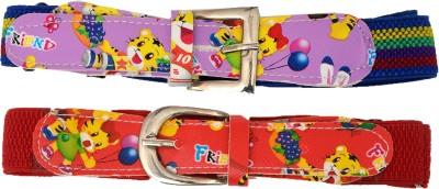 Gen Girls Casual Multicolor Fabric Belt